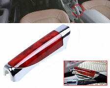 Universal RED Hand Brake Protector Decoration Cover Carbon Fiber Car Accessory