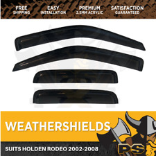 2002-2008 Holden Rodeo RA SET OF WEATHER SHIELDS