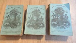 """1850/56/63 """"COLLECTION OF 16 COPIES OF THE NEW SPORTING MAGAZINE"""" NICE PLATES"""