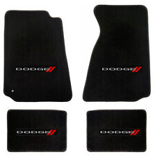 NEW! BLACK FLOOR MATS 2007-2011 Dodge NITRO Embroidered Logo Set of 4