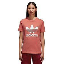 Adidas Trefoil Tee T-shirt donna Rosa 38 Rose