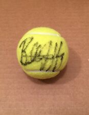 BILLIE JEAN KING SIGNED AUTOGRAPHED TENNIS BALL VERY RARE PSA/DNA