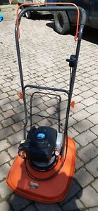 Xl500 flymo hover mower with 4 stroke honda engine.