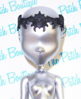 MONSTER HIGH DRACULAURA DOLL 13 WISHES STYLE BLACK CROWN TIARA HEADPIECE ONLY