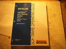 New Holland INTELLISTEER AUTO STEERING SYSTEM SOFTWARE Operators GUIDE