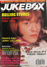 JUKEBOX 29 1989 Rolling Stones Jerry Lee Lewis Colosseum Elvis Presley