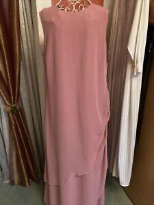 Edles Kleid Ballkleid Abendkleid Gr. 44 Brautmutter Kleid Neuwertig