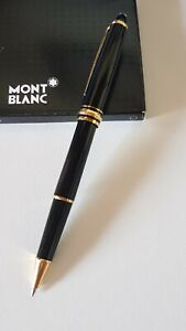Mont Blanc Meisterstuck Rollerball Pen 163 Gold Trimmed