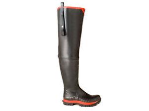 Skellerup Super Safety Waders size UK 12 Watstiefel mit Stahlkappe