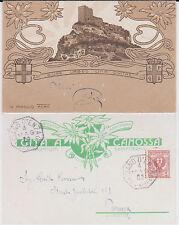 GITA AL CASTELLO DI CANOSSA REGGIO EMILIA 1902 SUPER !