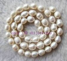 Rice Beads String 15inchs New 7-8mm White Freshwater Pearl