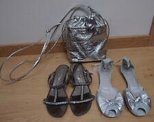 Lote de bolso y Sandalias mujer nº 37. Ds Cool, Hispanitas