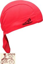 HEADSWEATS SUPER DUTY SHORTY RED HEADBAND--ONE SIZE