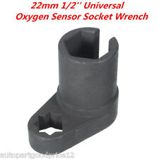 22mm 1/2''Drive Oxygen Sensor Socket Wrench Offset Removal Flare Nut Socket Tool