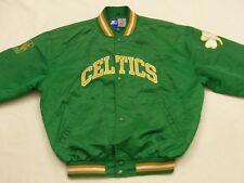 Boston Celtics Starter Bomber Jacket USA Ball Sports NBA Vintage Gr: XL Tip Top