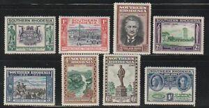 Southern Rhodesia   1940   Sc # 56-63   MNH   (55622)