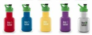 Klean Kanteen - 355ml (12oz) - Wasser / Saft-Flasche - KID KANTEEN - SPORT CAP 3