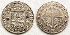 España-Felipe V. 2 Reales. 1722. Segovia. MBC+/VF+ Plata 4,6 g. CAL-1402. Escasa