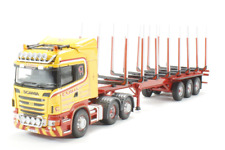 Corgi Modern Truck Heavy Haulage CC13766 Scania R Log Trailer Coillie 1/50