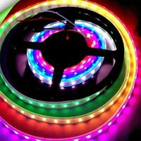 WS2811 5050 RGB LED Strip Light Waterproof Individually Addressable DC12V YS