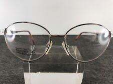 Charleston Collection Eyeglasses Gold Metal Frame Full Rim B439