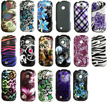 For LG Cosmos 2 / 3 VN251S VN251 UN-251 Design Faceplate Hard Cover Case