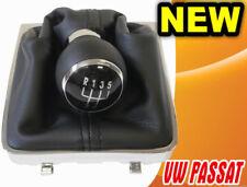 GEAR STICK SHIFT KNOB + GAITER + FRAME VW PASSAT B6 3C VARIANT (05-11) 5 SPEED
