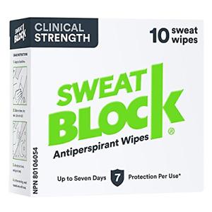 SWEATBLOCK Antiperspirant - Clinical Strength Hyperhidrosis Antiperspirant - Up