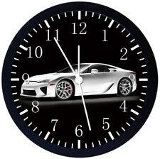 Lexus LFA Black Frame Wall Clock Nice For Decor or Gifts W142