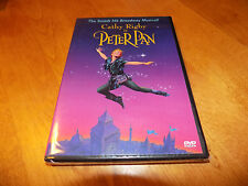 PETER PAN CATHY RIGBY Classic Live Performance Broadway Musical Hit A&E DVD NEW