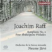 Raff: Symphony No. 2 (Shakespeare Preludes) (Neeme Jarvi, Orchestre de la Suisse