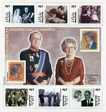 Maldives 2002 MNH Dutch Royalty Juliana Bernhard 6v M/S Willem-Alexander Stamps