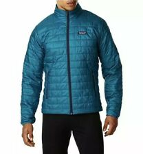 NEW MENS XL UNDERWATER BLUE PATAGONIA NANO PUFF PUFFER DOWN JACKET STY84212