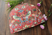 Retro Style Strawberry Thief 100% Cotton Quilted Teapot Tea Cosy Cozy