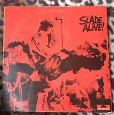Slade Alive - 1972 Vinyl LP-Polydor 2383-101 A2/B2 1st press.