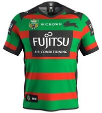 South Sydney Rabbitohs Home Jersey Sizes S - 3XL NRL CROWN ISC SALE 18