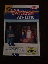 Wigan Athletic v Northampton Town programme 1987/88