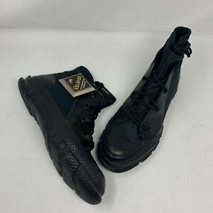 New Size 13 Converse Chuck Taylor MC18 Gore-Tex Boot Hi 165946C Black Men's