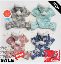 Autumn Winter Pet Dog Pajamas Jumpsuit For Small Dogs Shih Tzu Yorkshire Pullove