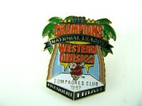 Baseball SAN DIEGO PADRES 1996 Western Division Champions Pin Compadres Club