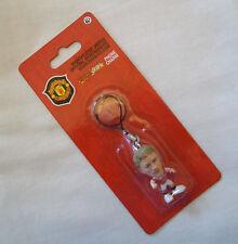 Microstars Phone Charm / Zipper Pull MANCHESTER UTD (HOME) SOLSKJAER on Card