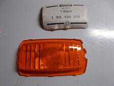 Oldtimer Blinkerglas orig. BOSCH für MUNGA  UNIMOG  404  MAN 630  VW Kübel  NEU