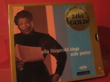 """DCC GZS-1079 E.FITZGERALD """"SINGS COLE PORTER"""" (ANALOGUE DCC 24KT GOLD-CD/SEALED)"""