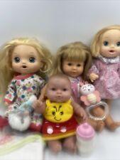 "Lot of Baby Dolls Baby Alive Brushy Sweet Tears Corolle 15"" Berenguer 8"""