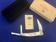 SUAVE CASE XX USA 2002 MOP 8355WH SS WHARNCLIFFE PEARL SEAHORSE WHITTLER KNIFE