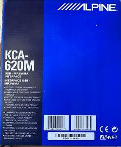 NEW OLD SCHOOL ALPINE KCA-620M USB MP3 WMA AI-NET INTERFACE ADAPTOR,RARE,NOS,NIB