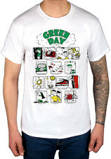 Official Green Day Dookie RRHOF T-shirt Kerplunk Nimrod Bullet In The Bible Band