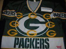 Wilson Green Bay Packers Short Mesh Jersey Size XXL 2XL Adult Vintage