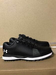 Under Armour Fade RST 3 Golf Shoes Black 3023330-001 Men's Size 8