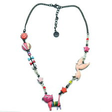 Collier LOL Bijoux LOLILOTA Le chat debout COLOL042-rose